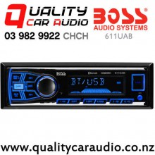 Boss 611UAB Bluetooth USB AUX NZ Tuners 2x Pre Out Car Stereo with Easy Payments
