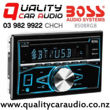 Boss 820BRGB Bluetooth USB AUX NZ Tuner 2x Pre Out Car Stereo with Easy Payments