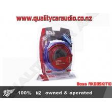 Boss AK0BSKIT10 4 Gauge 2 Ch Amp Wiring Kit - Easy LayBy