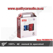 Boss AK0BSKIT2 8 Gauge 2 Ch Amp Wiring Kit - Easy LayBy