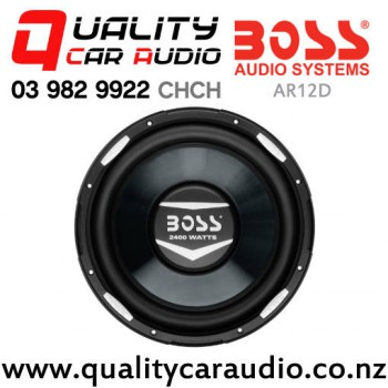 """Boss AR12D 12"""" 2400W (1200W RMS) Dual 4 ohm Voice Coil Car Subwoofer with Easy Payments"""