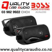 Boss AVA6200 80W (40W RMS) 3 Way Enclosed Car Speakers (pair) with Easy Finance
