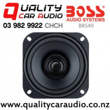 "Boss BRS40 4"" Dual Cone Replacement Speaker (1 Speaker Only)"