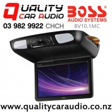 """Boss BV10.1MC 10.1"""" DVD CD SD USB Flip Down Roof Mount Media Player with Easy Payments"""