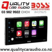 Boss BVCP9675 Apple CarPlay 80w x4 Bluetooth USB AUX 2x Pre-Outs Car Stereo with Easy Finance
