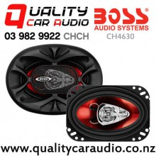 "Boss CH4630 4x6"" 250W (125W RMS) 3 Way Coaxial Car Speakers (pair) with Easy Finance"