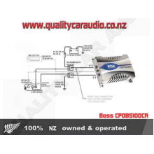 Boss CP0BS100CR 10 Farad Digital Capacitor Chrome - Easy LayBy