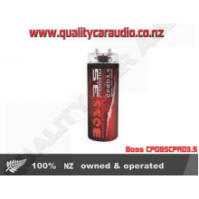 Boss CP0BSCPRD3.5 3.5-Farad Capacitor Red - Easy LayBy
