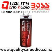 Boss CPRD3.5 3.5-Farad Car Capacitor in Red Colour with Easy Finance