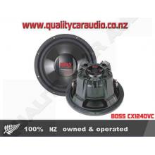 "BOSS CX124DVC 1500W 12"" Dual 4-Ohm Sub - Easy LayBy"