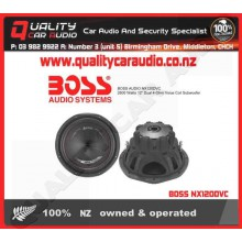 """BOSS NX120DVC 2600W 12"""" 4-Ohm DVC Subwoofer - Easy LayBy"""