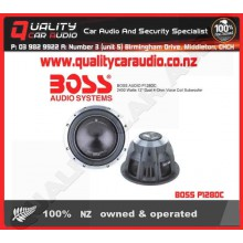 """BOSS P128DC 2400W 12"""" 4-Ohm DVC Subwoofer - Easy LayBy"""