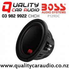 """Boss P129DC 12"""" 2600W (1300W RMS) Dual 4 ohm Voice Coil Car Subwoofer with Easy Finance"""