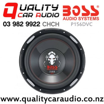 """Boss P156DVC 15"""" 2500W (1250W RMS) Dual 4 ohm Voice Coil Car Subwoofer with Easy Payments"""