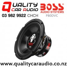 "Boss P80DVC 8"" 1000W (500W RMS) Dual 4 ohm Voice Coil Car Subwoofer with Easy Payments"