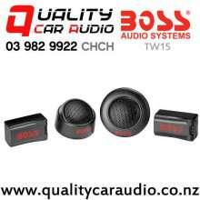 """Boss TW15 1"""" 250W Dome Tweeter (pair) with Easy Payments"""
