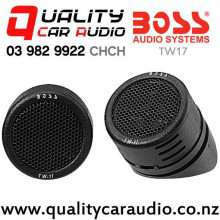 """Boss TW17 0.5"""" 200W Dome Tweeter (pair) with Easy Payments"""