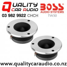"""Boss TW30 3"""" 250W 1 Way Bullet Tweeter (pair) with Easy Payments"""