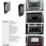 CarAv 11-189 For Jeep Wrangler 2007+, CRYSLER (300) 2008-10, (200) 2011+
