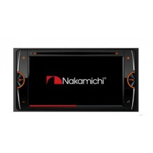 Nakamichi NA3710C Bluetooth USB DVD NZ Tuner 2x Pre Outs 1x Sub Out 200mm Wide Panel Car Stereo (map not incl) with Easy Finance
