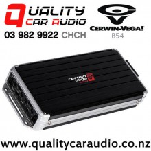 Cerwin Vega B54 1000W (500W RMS) 4/3/2 Channel Class D Car Amplifier with Easy Finance