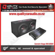 "Cerwin-Vega BKX212V Dual 12""  3000W Enclosure - Easy LayBy"
