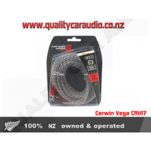 Cerwin Vega CRH17 Twisted RCA 17ft Cable - Easy LayBy