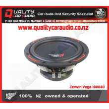 """Cerwin-Vega H4104D 250W 10"""" Dual 4 Ohm Subwoofer - Easy LayBy"""