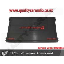 Cerwin-Vega H41200.4 1200W 4 Channel A/B Amplifier - Easy LayBy