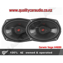 """Cerwin Vega H4693 6x9"""" 420W 3 Way Coaxial Car Speakers - Easy LayBy"""