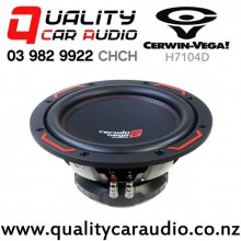 "Cerwin Vega H7104D 10"" 1000W (250W RMS) Dual 4 ohm Voice Coil Car Subwoofer with Easy Payments"