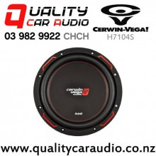 "Cerwin Vega H7104S 10"" 1000W (200W RMS) Single 4 ohm Voice Coil Car Subwoofer with Easy Payments"
