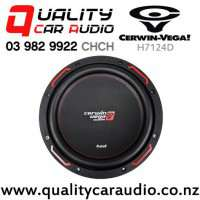 """Cerwin Vega H7124D 12"""" 1200W (250W RMS) Dual 4 ohm Voice Coil Car Subwoofer with Easy Payments"""