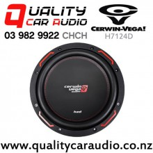 "Cerwin Vega H7124D 12"" 1200W (250W RMS) Dual 4 ohm Voice Coil Car Subwoofer with Easy Payments"