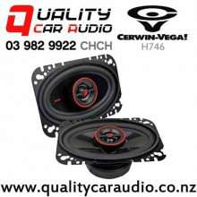 "Cerwin Vega H746 4x6"" 275W (30W RMS) 2 Way Coaxial Car Speakers (pair) with Easy Finance"