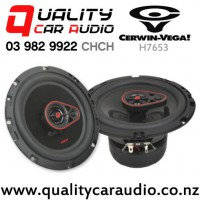 """Cerwin Vega H7653 6.5"""" 340W (55W RMS) 3 Way Coaxial Car Speakers (pair) with Easy Payments"""