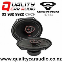 "Cerwin Vega H7683 6x8"" 360W (55W RMS) 3 Way Coaxial Car Speakers (pair) with Easy Finance"