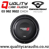 """Cerwin Vega HS122D 12"""" 500W (250W RMS) Dual 2 ohm Voice Coil Shallow Car Subwoofer with Easy Payments"""