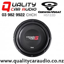 "Cerwin Vega HS122D 12"" 500W (250W RMS) Dual 2 ohm Voice Coil Shallow Car Subwoofer with Easy Payments"