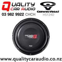 """Cerwin Vega HS124D 12"""" 500W (250W RMS) Dual 4 ohm Voice Coil Shallow Car Subwoofer with Easy Payments"""