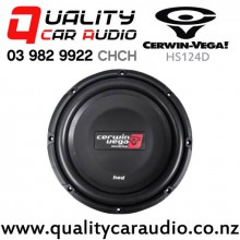 "Cerwin Vega HS124D 12"" 500W (250W RMS) Dual 4 ohm Voice Coil Shallow Car Subwoofer with Easy Payments"