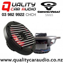 """Cerwin Vega SM65 6.5"""" 400W (75W RMS) 2 Way Stroker Marine Speakers (pair) with Easy Payments"""