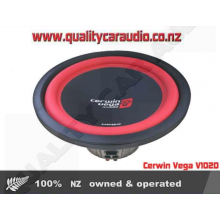 """Cerwin Vega V102D 10"""" 400W Dual 2 Ohm Subwoofer - Easy LayBy"""