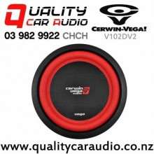 "Cerwin Vega V102DV2 10"" 1100W (400W RMS) Dual 2 ohm Voice Coil Car Subwoofer with Easy Finance"