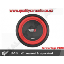 """Cerwin Vega V104D 10"""" 400W Dual 4 Ohm Subwoofer - Easy LayBy"""