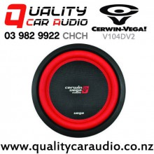 "Cerwin Vega V104DV2 10"" 1100W (400W RMS) Dual 4 ohm Voice Coil Car Subwoofer with Easy Finance"
