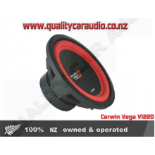 "Cerwin Vega V122D 12"" 900W Dual 2 Ohm Subwoofer - Easy LayBy"