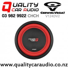 "Cerwin Vega V124DV2 12"" 1300W (450W RMS) Dual 4 ohm Voice Coil Car Subwoofer with Easy Finance"