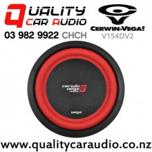 "Cerwin Vega V154DV2 15"" 1500W (550W RMS) Dual 4 ohm Voice Coil Car Subwoofer with Easy Finance"