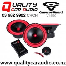 """Cerwin-Vega V465C 6.5"""" 400W (100W RMS) 2 Ways Car Component Speakers (pair) with Easy Finance"""